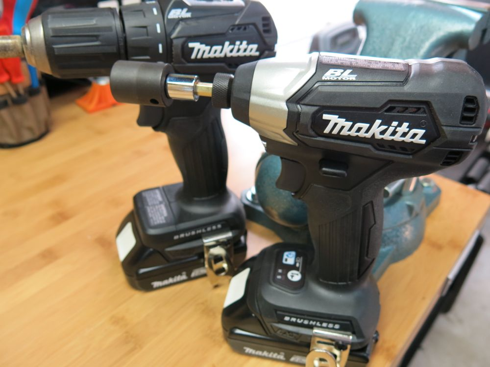 Makita Sub-Compact Drill and Impact Driver - 18v Goes Ninja