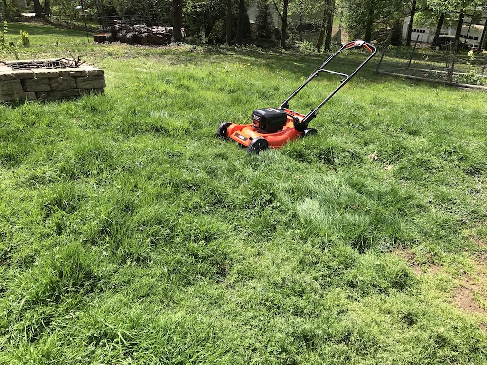 echo 58v lawnmower