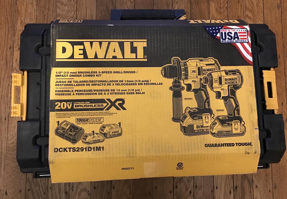 DeWalt DCKTS291D1M1