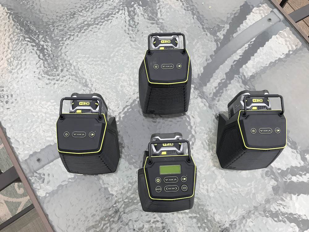 ryobi score wireless speakers