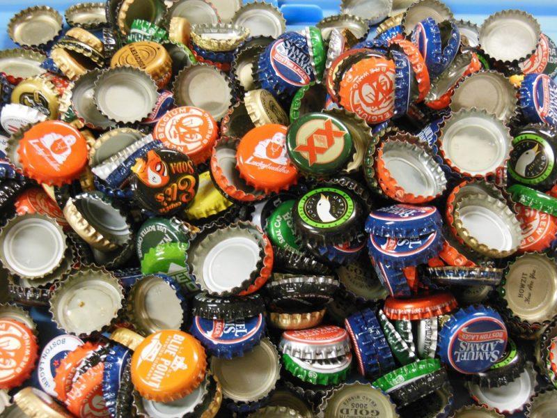 Bottle cap assortment