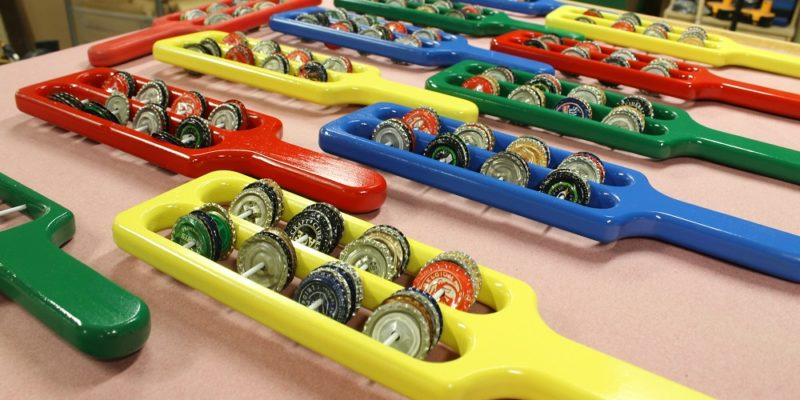 How To Make A Bottle Cap Tambourine – A Musical Woodworking Project