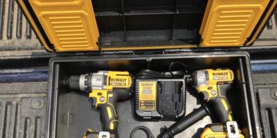 DeWalt DCKTS291D1M1 20V MAX Brushless Combo Kit – Yellow, Black And Beefy