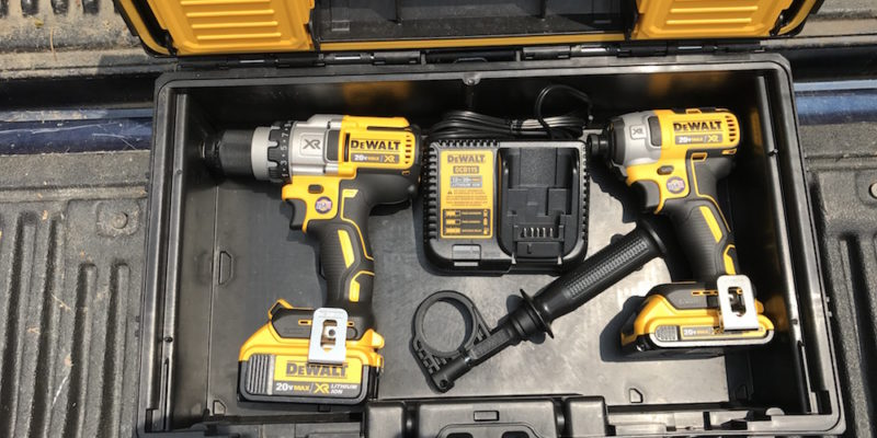 DeWalt DCKTS291D1M1 20V MAX Brushless Combo Kit – Yellow, Black And Beefy