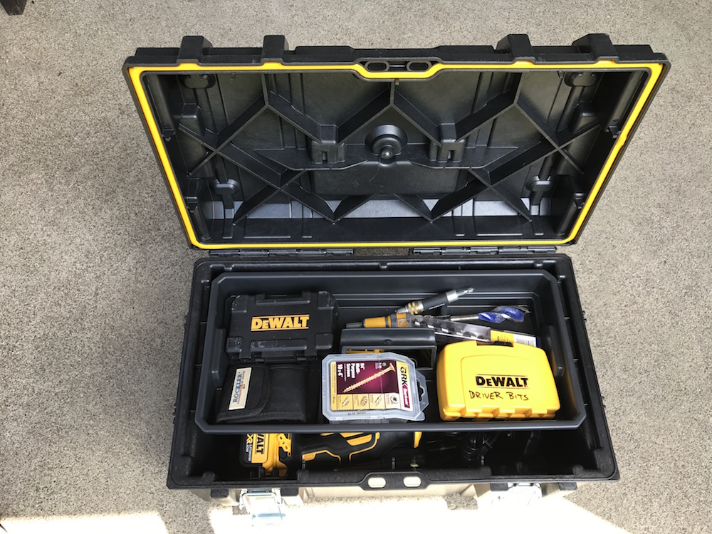 Dewalt Toughsystem Tool Boxes Stack Em Rack Em Pack