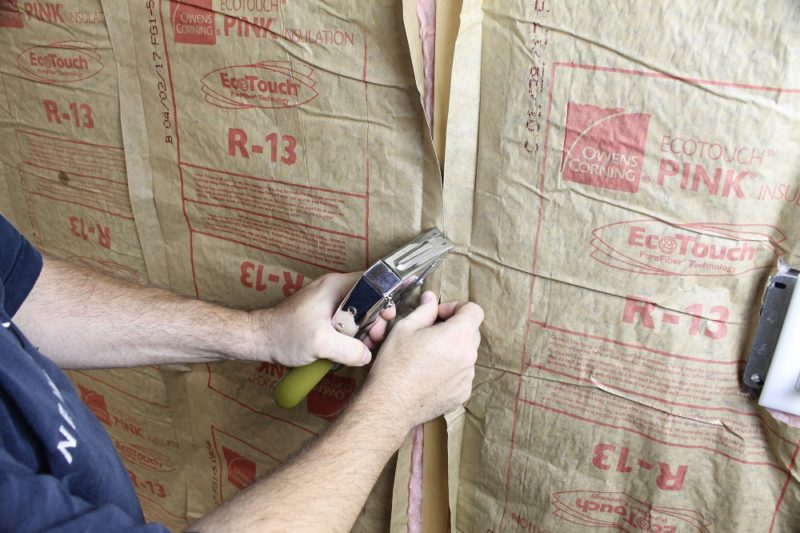 How To Sheathing Garage Walls With Plywood And Insulate