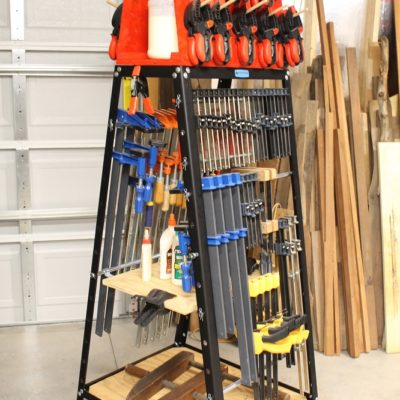 Rockler Pack Rack – A Mobile Clamp And Tool Storage System