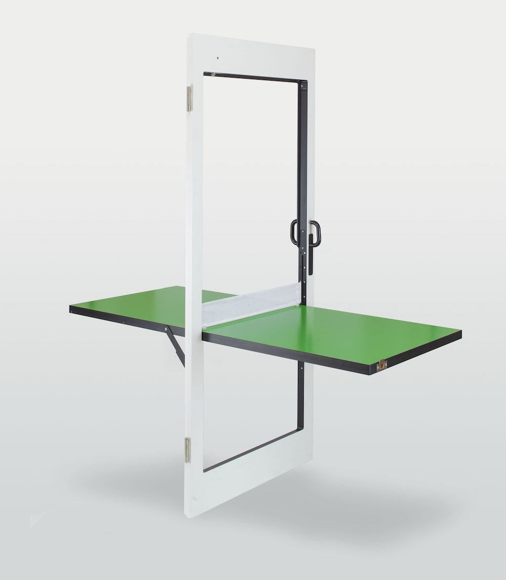 Designed By Tobias Fränzel, Ping Pong Table Door