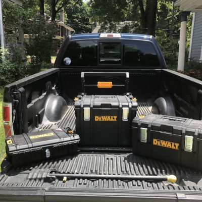 DeWalt ToughSystem Tool Boxes – Stack 'Em, Rack 'Em, Pack 'Em