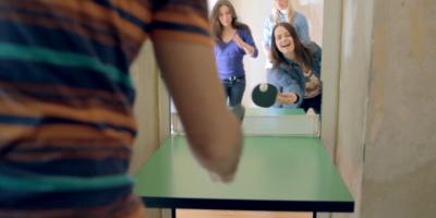 It's a Door, It's a Ping Pong Table, No It's Both