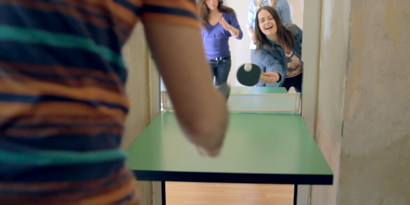It's a Door, It's a Ping Pong Table, No It's Both