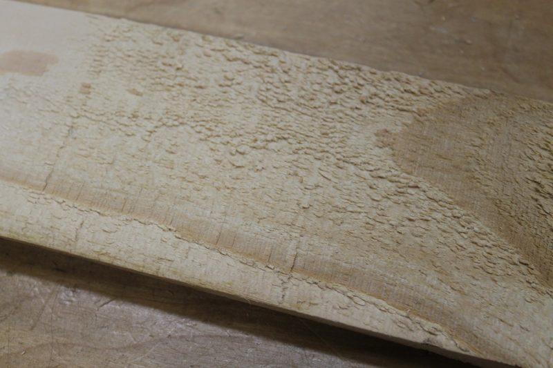 Rough pallet wood.