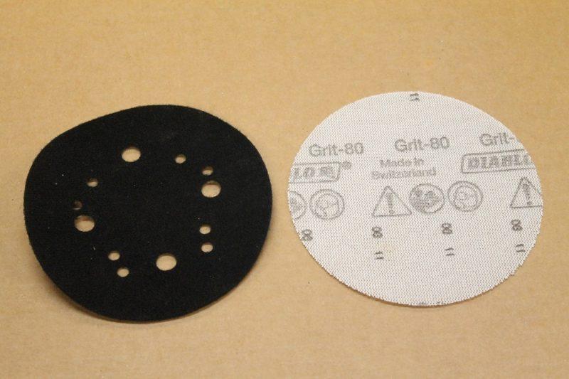 Sandnet and applicator pad