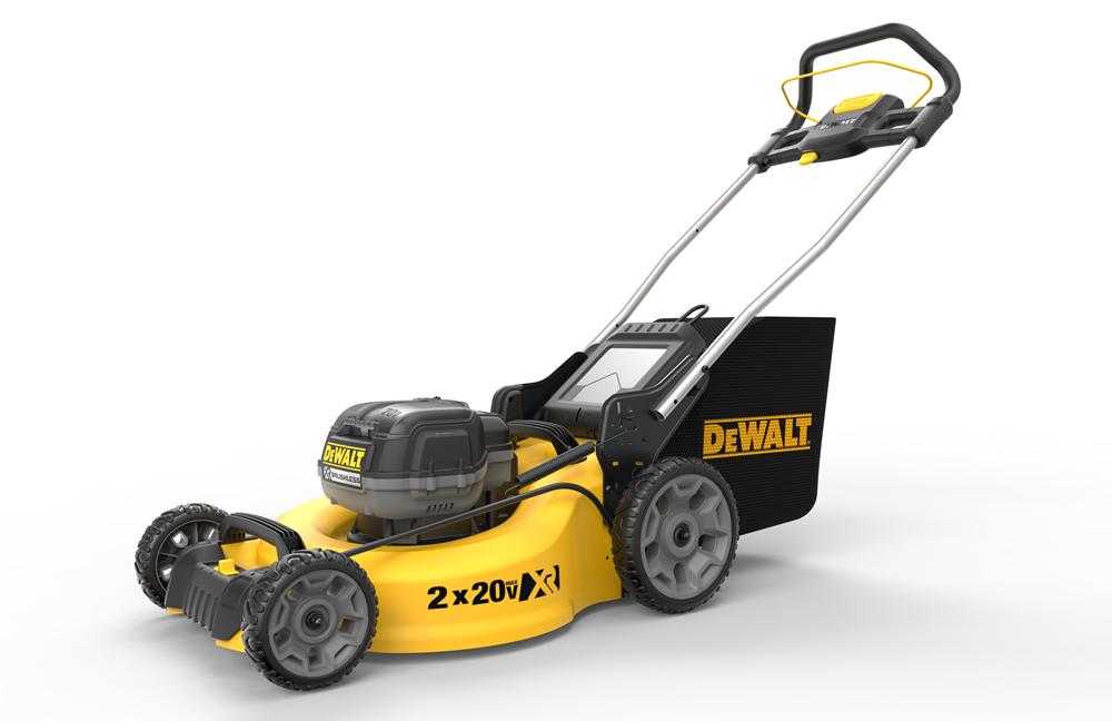 battery powered lawnmower