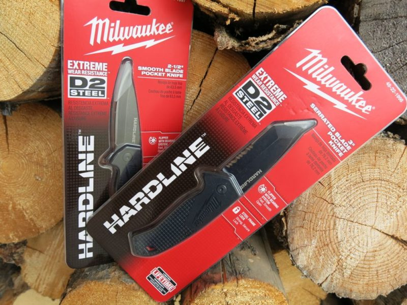 hardline knives packaged