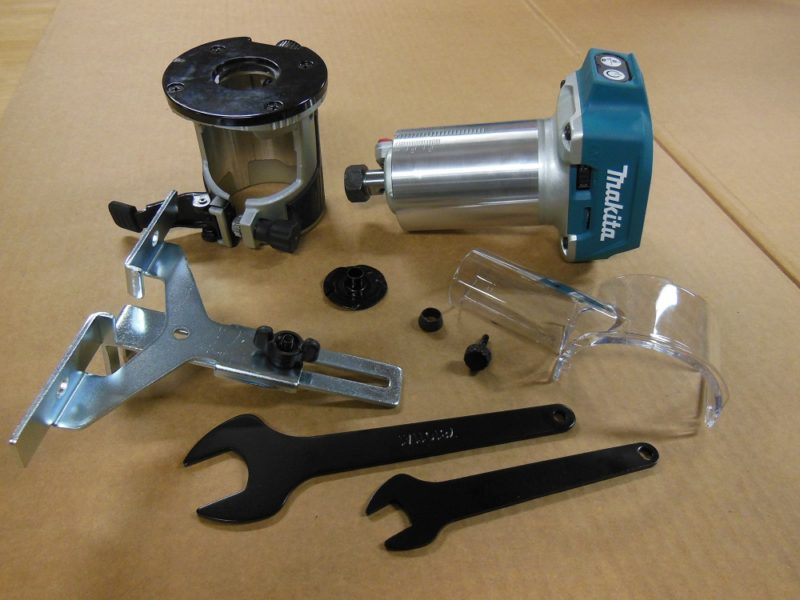 Makita XTR01Z Compact Router Kit