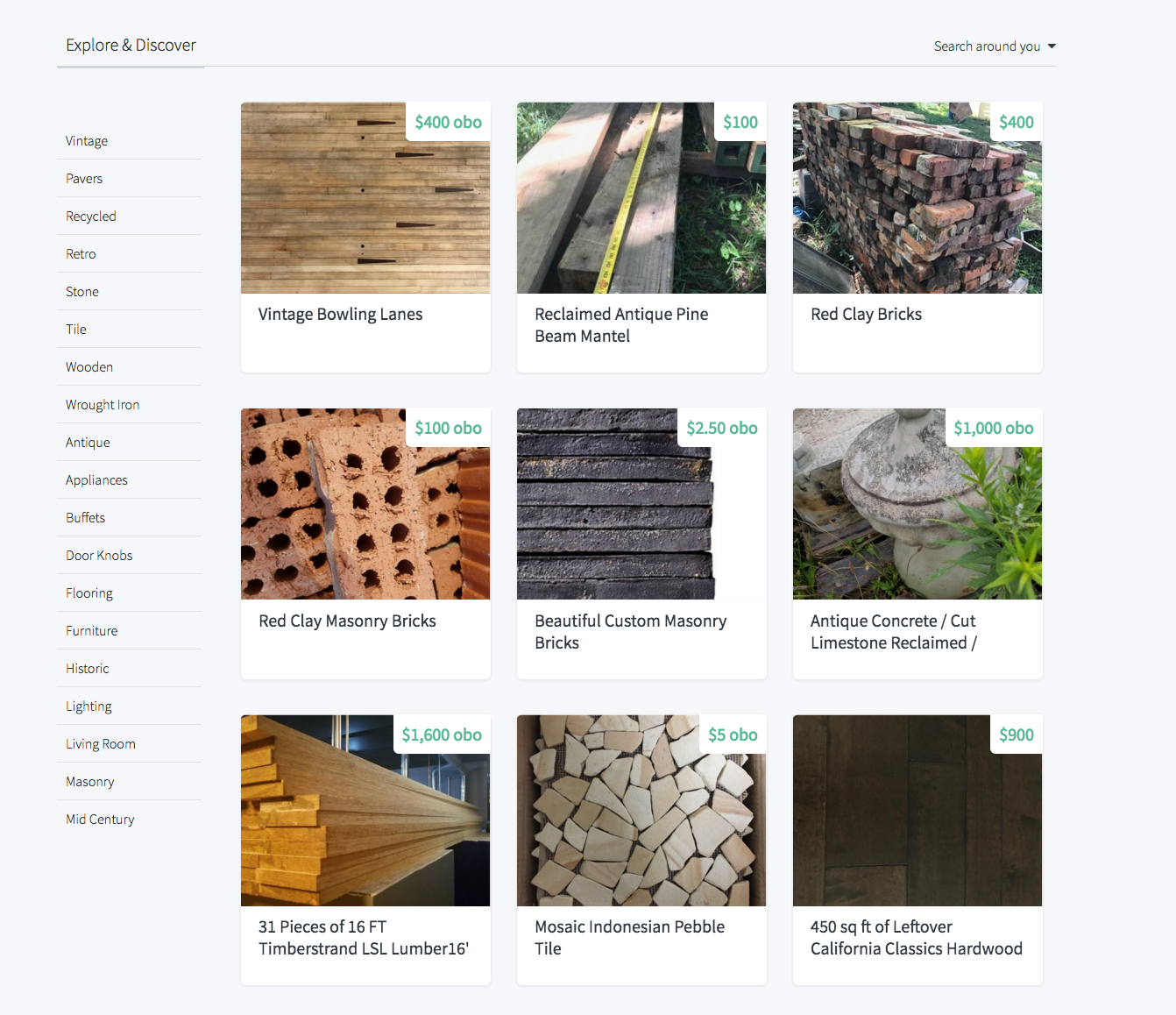 Looking For Reclaimed Building Materials We Have Some