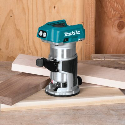 Makita XTR01Z 18V Li-Ion Brushless Compact Router Reviewed