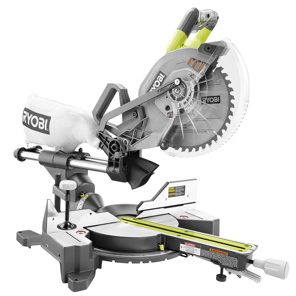Ryobi cordless sliding miter saw review one plus one equals 36 keyboard keysfo Image collections