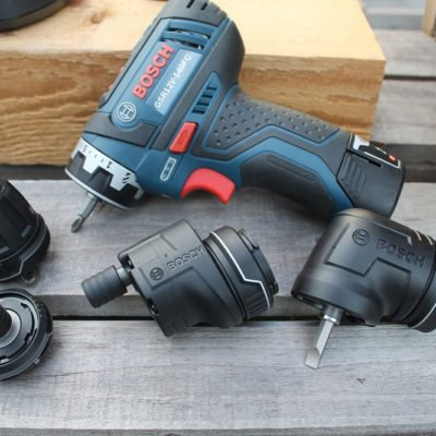 Bosch FlexiClick 5-in-1 Drill/Driver System – A Whole New Angle