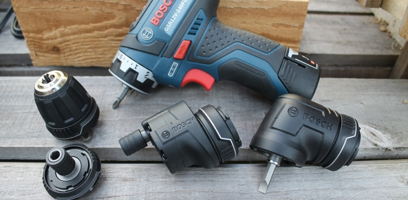 Bosch FlexiClick 5-in-1 Drill/Driver System - A Whole New Angle