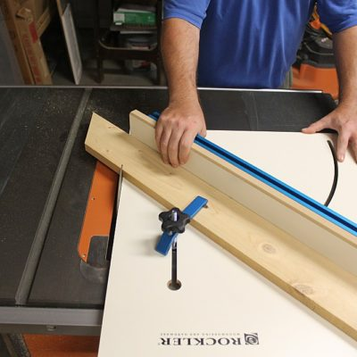 Rockler Table Saw Crosscut Sled – A Power-up For Your Workhorse