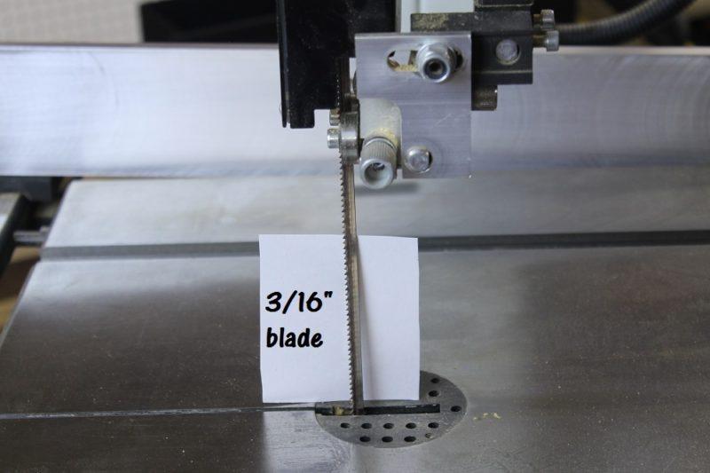 "3/16"" blade"