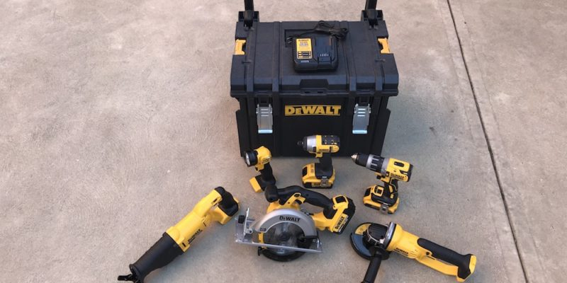 DeWalt 7 Piece Combo Kit – Lots Of Yellow & Black, Not Much Green