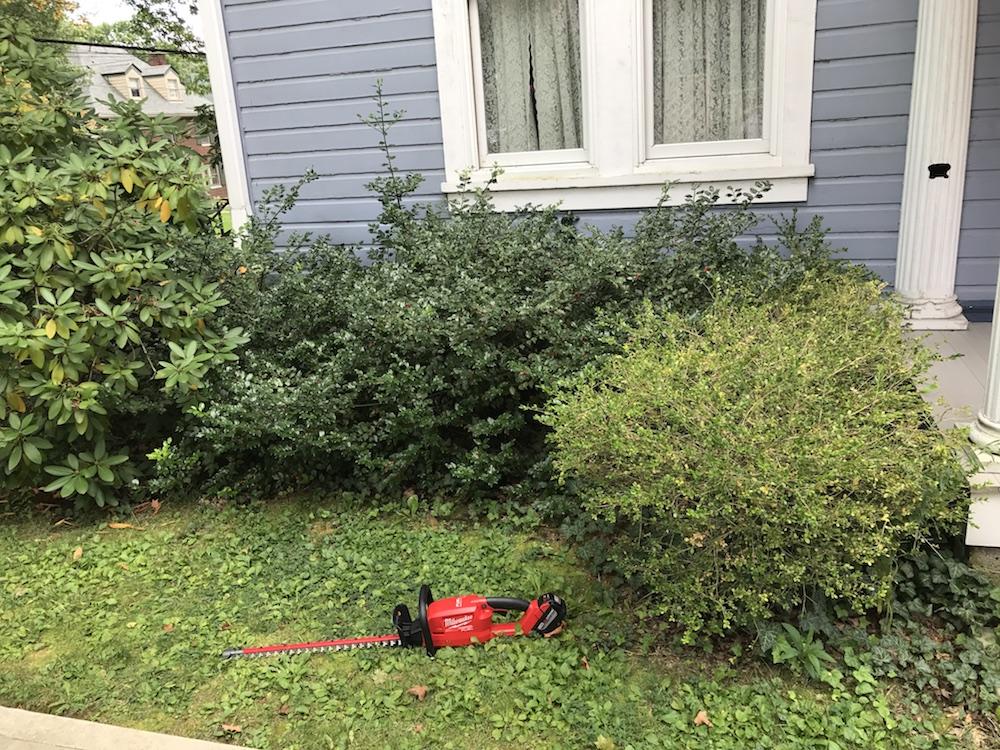 milwaukee m18 hedge trimmer
