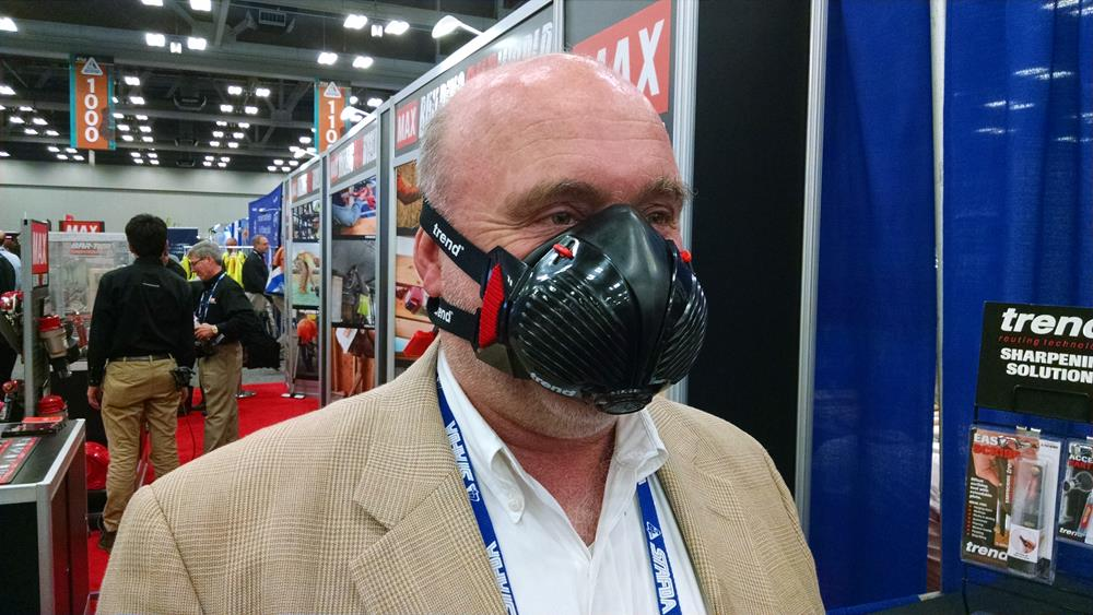 rubber dust mask