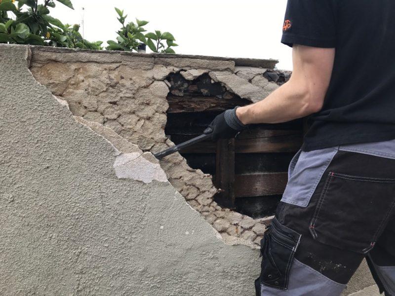 demolition stucco 2
