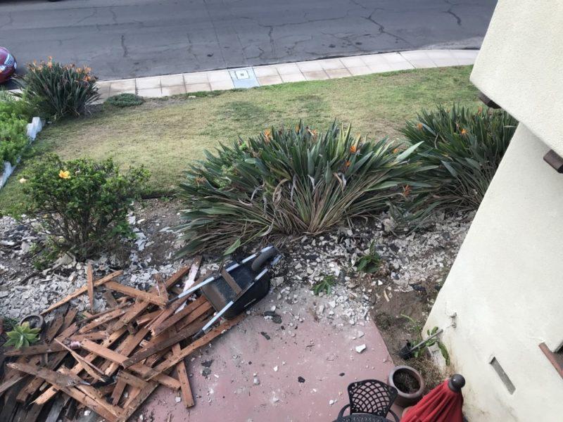 wall demolition