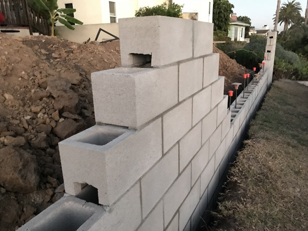 Filling Cinder Blocks With Concrete