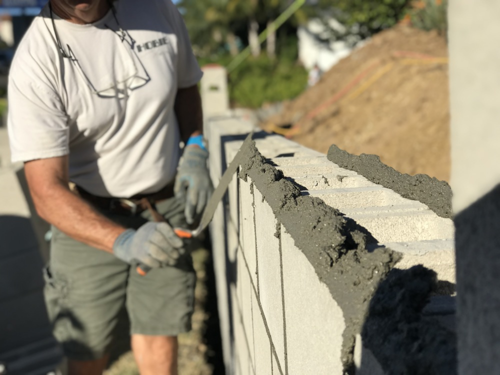 How to Build a Concrete Block Wall - Part 2