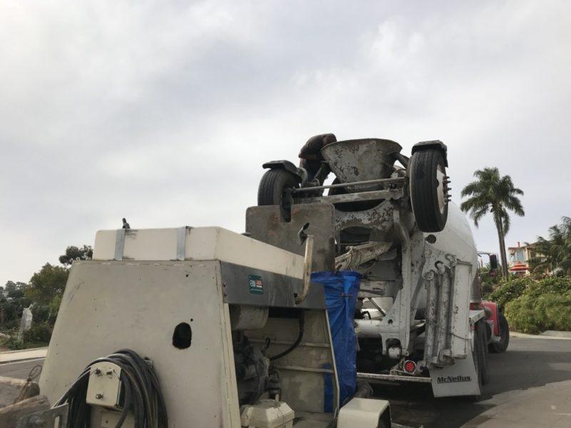 concrete pumper