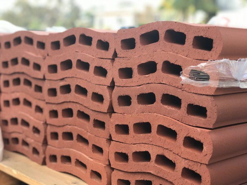 Pacific Clay Capella wall caps