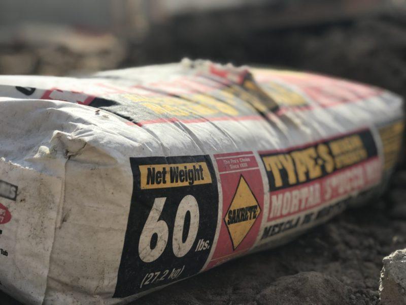 sakrete type s mortar