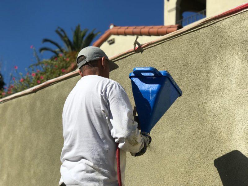 stucco heavy texture hopper