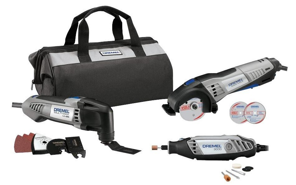 Dremel 3-Tool Combo Kit - 3 Great Tools For 1 Great Price