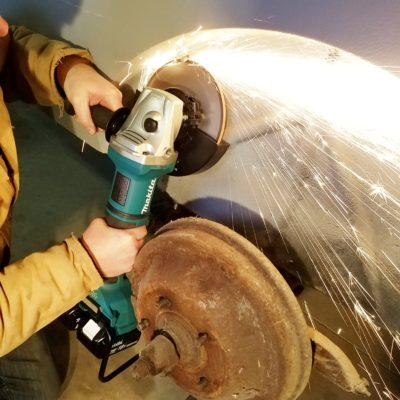 Makita 36V Grinder – A New Angle on Cordless Grinders
