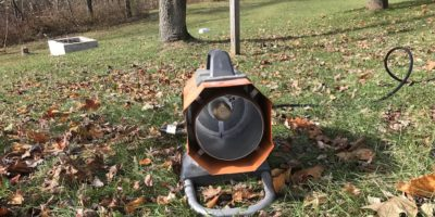 Ridgid Hybrid Heater Review – Small Orange Heater, Big Blue Flame