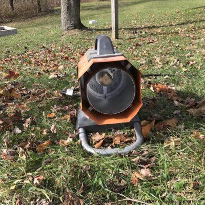 Ridgid Hybrid Heater Review – Small Orange Heater, Big Blue Flame