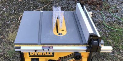 "DeWalt DW745S 10"" Table Saw Combo – DeWalt's Job Site Saw Takes A Stand"