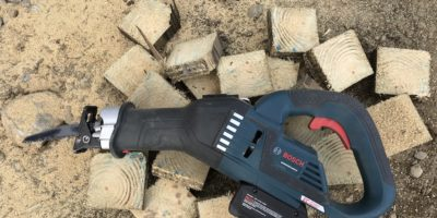 The Bosch GSA18V-125 is Angling To Be Your Next Reciprocating Saw