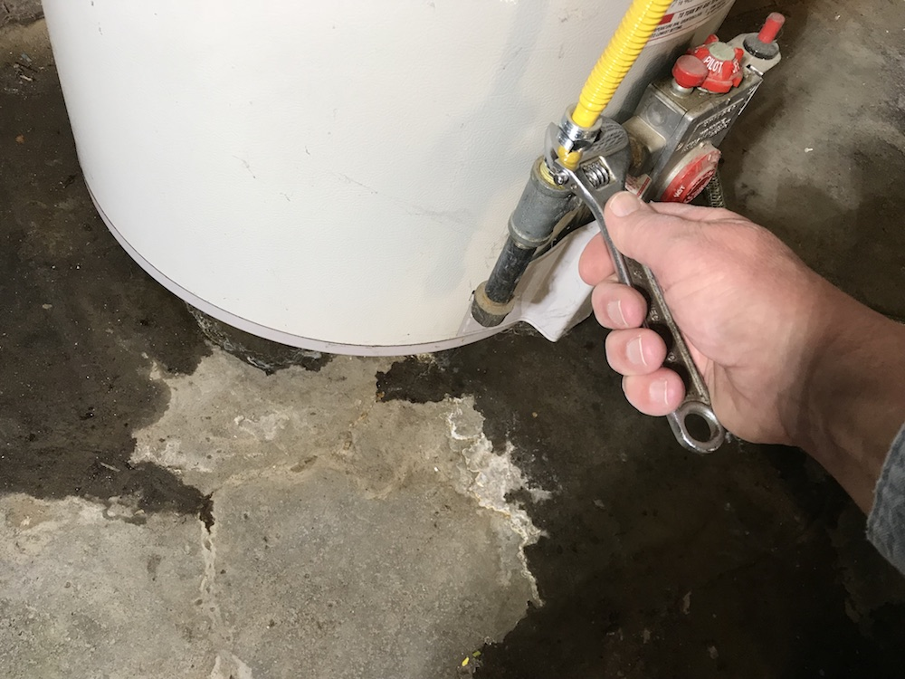 replace a water heater