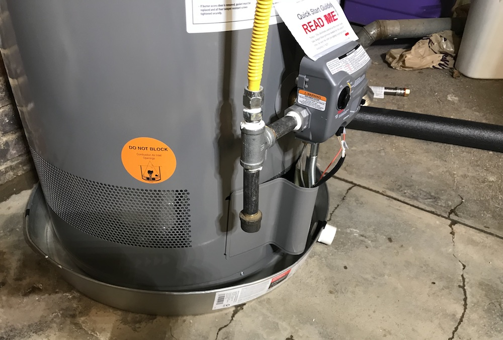 How To Replace A Water Heater -  And Add An Expansion Tank While You're At It!