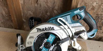 Makita XSR01Z 18V X2 Rear Handle Circular Saw – 36 Volts, Zero Worms