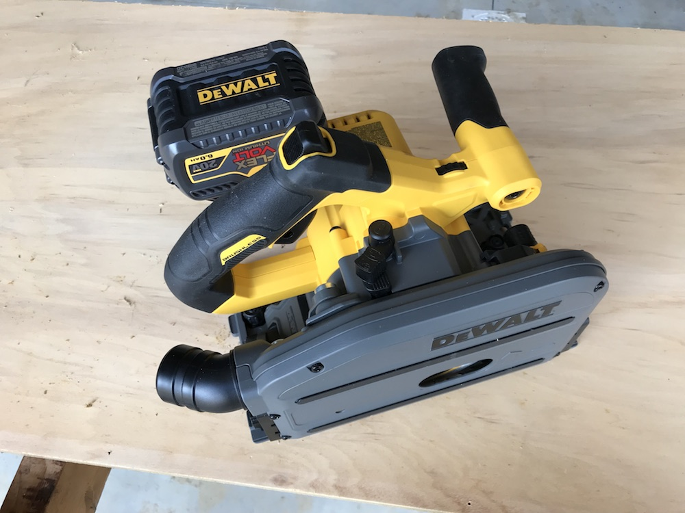 DeWalt FlexVolt TrackSaw Review - Like A Tiny Upside-Down Sliding