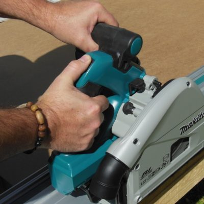 Makita 36V Brushless Plunge Track Saw – The Best Thing Since Sliced Wood