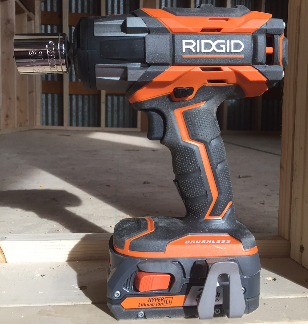The Ridgid Impact Wrench Gen5x Cordless Edition Is A Heavy Hitter Stanley 18v Brushless Driver